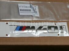 "BMW Genuine G01 X3 Cerium Gray Trunk Emblem ""M40i"" Lettering Decal Badge"