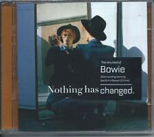 David Bowie - Nothing Has Changed [Best Of / Greatest Hits] 2CD NEW/SEALED