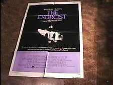 EXORCIST MOVIE POSTER '74 LINDA BLAIR CLASSIC