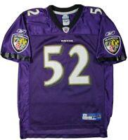 Reebok boys Baltimore Ravens Ray Lewis 52 jersey large purple