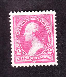 US 248 2c Washington Mint XF OG NH