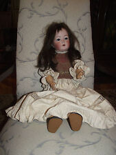 Antique Bisque Doll, Porcelain Head, Germany