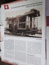 Chronik der Eisenbahn 1B: 1899 Schweiz 1. elektrische Vollbahnlokomotive