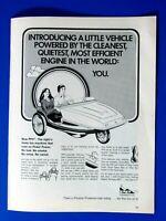 "Danica Patrick 2008 Honda Original Print Ad 8.5 x 11/"""