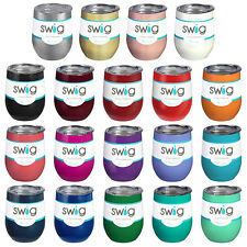 Swig Stainless Steel Stemless Double Wall Insulated Wine Cup Tumblers