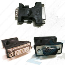 DVI-I Female to VGA Male Adaptor Changer AV adapter convertor Socket Plug