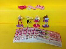 Komplettsatz Barbie SD604 - SD610 mit BPZ aus Indien
