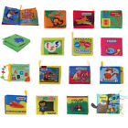 Infants Intelligence Readings Soft Cloth Book 4 Pages Kids Sensory Education Toy