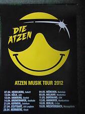 DIE ATZEN  2012  TOUR   orig.Concert-Konzert-Tour-Poster-Plakat DIN A1