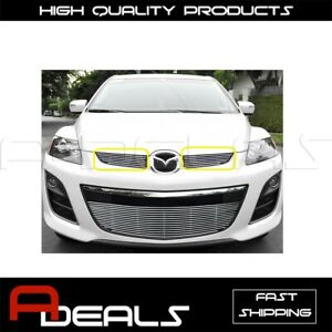 FOR MAZDA CX-7 2010 2011 2012 UPPER BILLET GRILLE GRILL INSERT BOLT ON