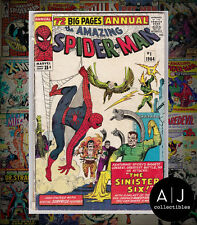 The Amazing Spider-Man Annual #1 (I Marvel M) VG - VG+! HIGH RES SCANS!