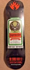 Jagermeister Black Label Skateboard Deck Limited Edition Extremely Rare 1/1? NOS