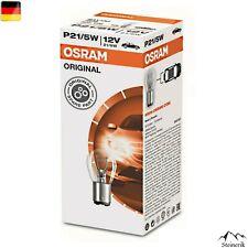 10x Osram 7528 P21/5W 12V Blinker BAY15d Halogen Lampe E-geprüft