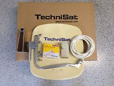Original TechniSat Digidish45 mit TS Quattro-Switch -LNB(4Teilnehmer) beige, neu