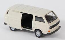 BLITZ VERSAND VW T3 VAN creme Welly Modell Auto 1:34 NEU & OVP