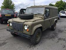 1986 Land Rover Ex-Army 110 Hard Top 2.5 N/A
