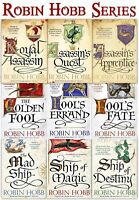 Robin Hobb Series Collection Farseer Trilogy, Liveship Traders, Tawny Man Trilog