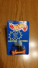 Flintstones 1994 Hot Wheels Pebbles Color Changing Flintmobile Sealed on Card