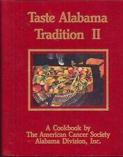 Taste Alabama Tradition II Cancer Society Cookbook 1991 Illus Chess Pie Cookies