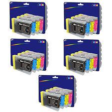 Any 20 non-OEM LC970 Ink for DCP-770CW MFC-230C MFC-235C MFC-240C MFC-440CN