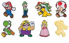 Nintendo Super Mario Collector Pins Series 1 Complete Set  - Limited Badge Gold