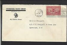 "BROOKLYN,NEW YORK 1929 COVER, #649, ADVT. ""INTERNATIONAL TRADING COMPANY""."