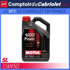 Aceite Motul 4100 Energía 15W50 - 5L para motor 4 Tiempos