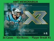 Khalil Mack Chicago Bears 2020 Panini XR Football 3X CASE 45x BOX BREAK #1