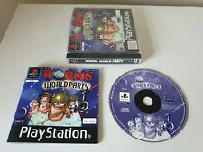 WORMS ARMAGEDDON. PS1 Game. Complete. BLACK LABEL (PlayStation One, PS3 PAL)