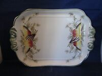 Hand Painted Ceramic Serving Tray or Platter