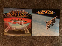Boston 2 Vinyl LP Record Lot- Don't Look Back And Third Stage - EX/EX And VG+VG