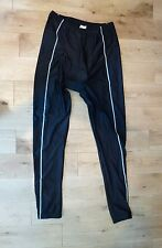 IDEO Padded Cycling Tights Leggings Pants Bottoms Reflective Size XL NEW Black