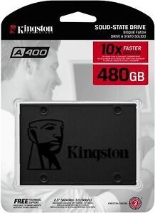 Kingston SSD A400 Solid State Drive 2.5 inch SATA 3 - 480 GB