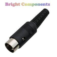 DIN 7-Pin Plug - MIDI Data Audio Cable Solder Connector - 1st CLASS POST