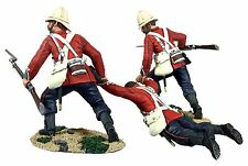 "BRITAINS SOLDIERS 20177 - ""Rescue"" British 24th Foot Dragging Comrade No.1"