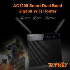 Tenda® AC1200 Smart Dual-Band Gigabit WiFi Router NBN Ready Faster Speed