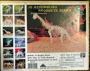 WOOD 3D PUZZLE D309 Brachiosaurus Wood 3D PUZZLE  - NEW & SEALED!, Ages 6 and Up