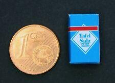 Salz Packung Miniatur 1:12  Zubehör Puppenstube Küche Gewürz Diorama