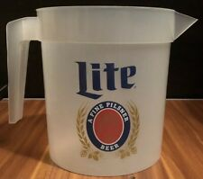New 48 oz. Miller Lite Beer Pitcher