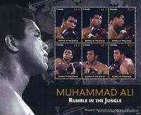 Grenada 2015 MNH Muhammad Ali Rumble in Jungle 6v M/S Boxing
