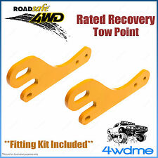Toyota Prado 150 Series 4WD Roadsafe Rated Recovery Heavy Duty Tow Points Kit