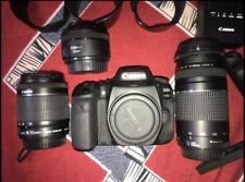 Canon EOS 90D 4K DSLR Camera + 18-55mm STM + 75-300mm + 50mm  Accessory Bundle