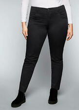 Sheego @ Curvissa Plus Size 28 Black Slim Fit Stretch TROUSERS Casual £59
