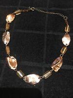 Debenhams!! Women's Costume Necklace Rose Gold Coloured