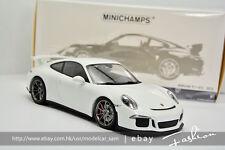 Minichamps 1:18 porsche 911 GT3 2013 White