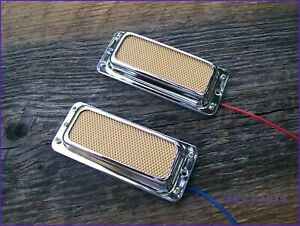 Gold Foil Pickup Set Vintage Silvertone - Harmony Teisco style EZPZ GUITAR PARTS
