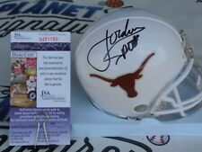 Jordan Spieth signed Texas Longhorns UT mini helmet 2015 Masters JSA COA