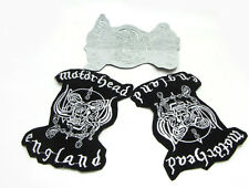 New  Embroidered Applique Iron On Sew On Patch Cloth Black AG-30