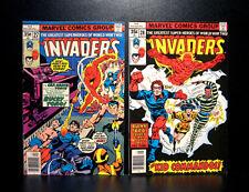 COMICS: Marvel: The Invaders #27-28 (1978), 1st Kid Commandos app - RARE