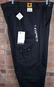 Propper Men's Critical Edge EMS EMT Black Pants Teflon Unhemmed Size 44 NEW